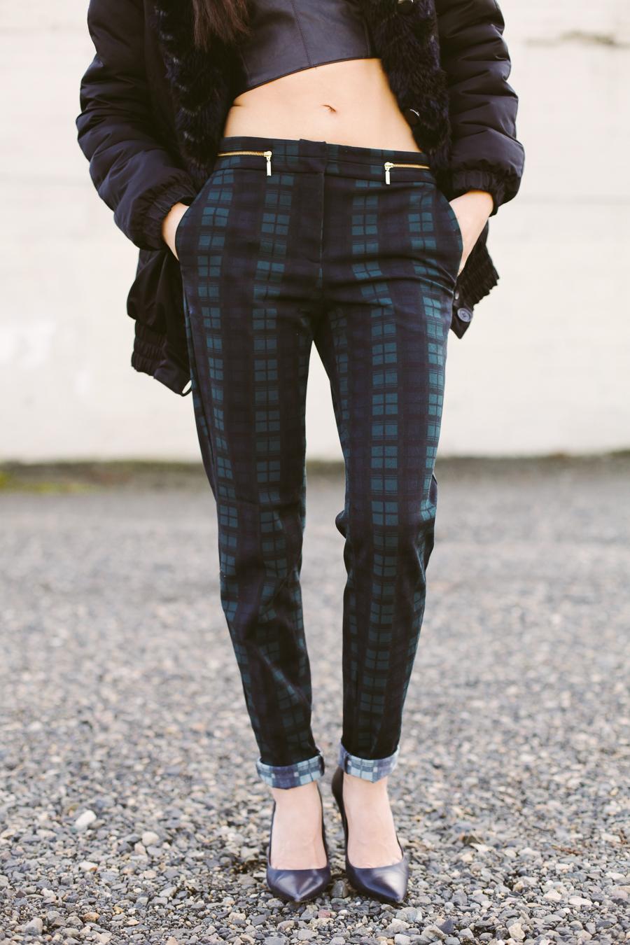 LC plaid pants-102
