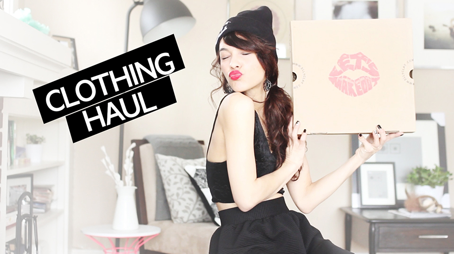 Clothing Haul Video