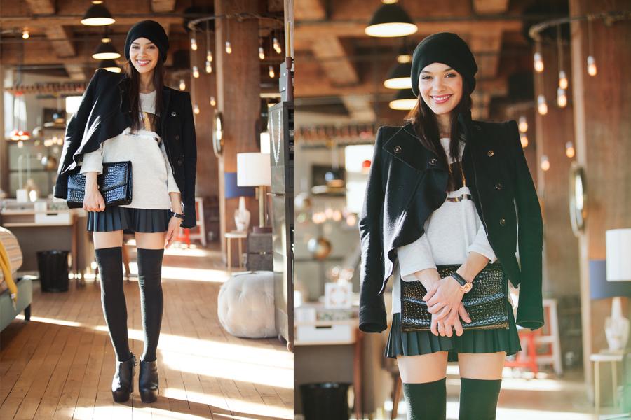 pleated skirt 4