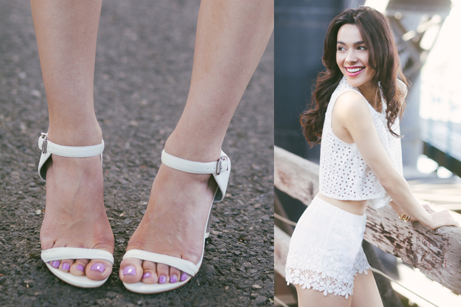 Topshop White LC-01