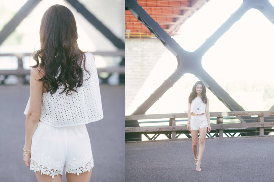 Topshop White LC-02