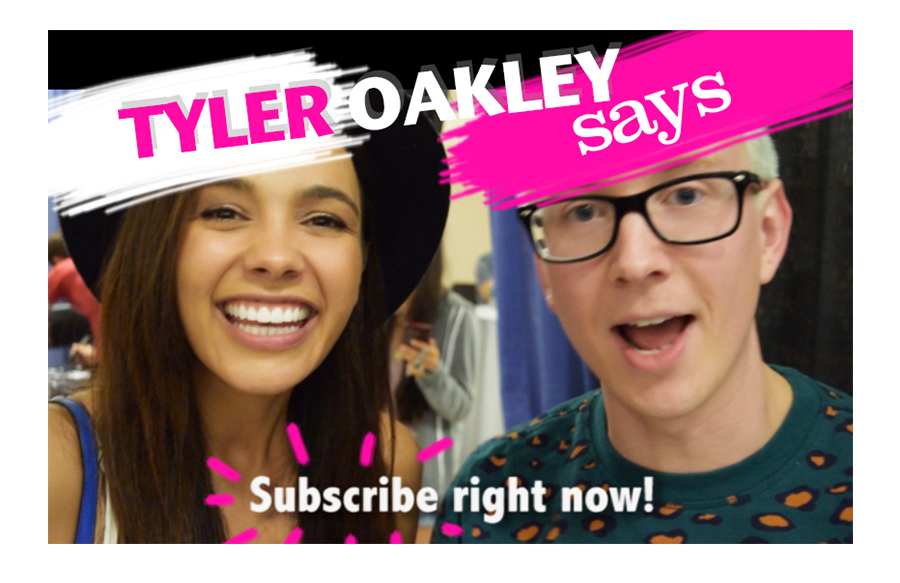 Tyler Oakley- Asks you to Subscribe to my Channel