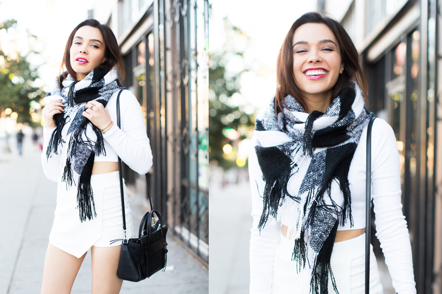 Winter Scarves How To Style Yours 3 Ways