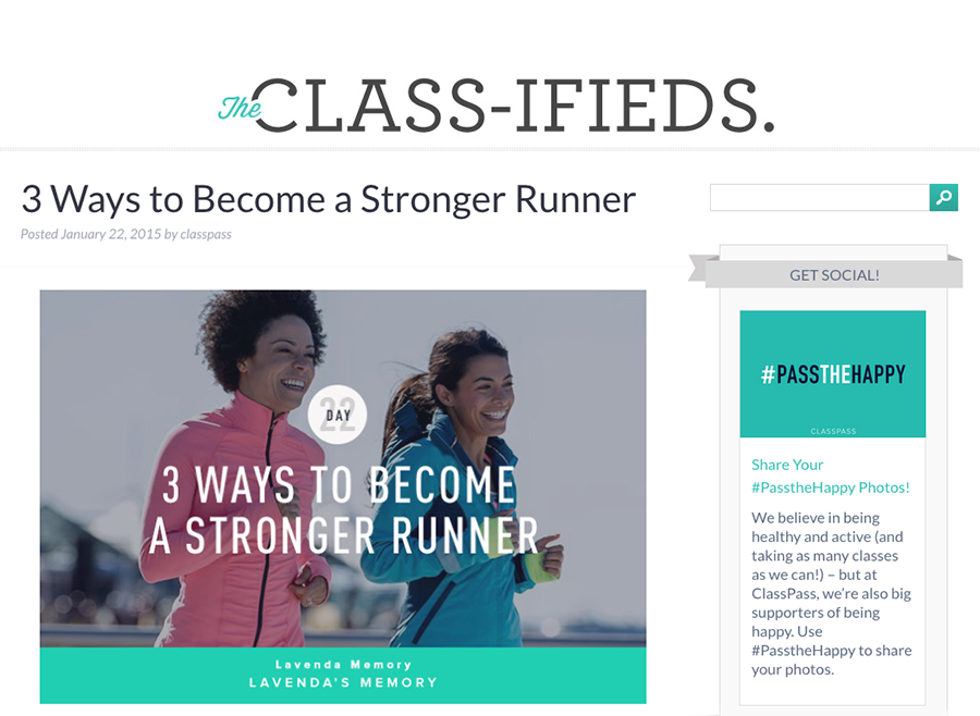 Getting Fit- ClassPass Comes to Portland