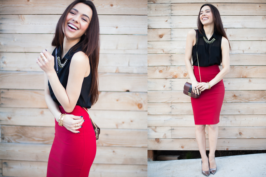Skirt It Outfit Red-01