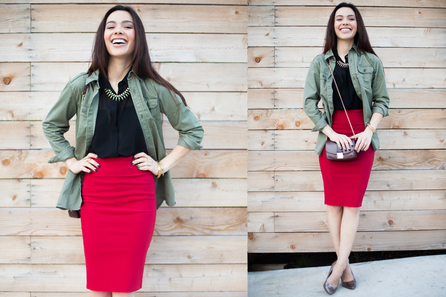 Skirt It Outfit Red-02
