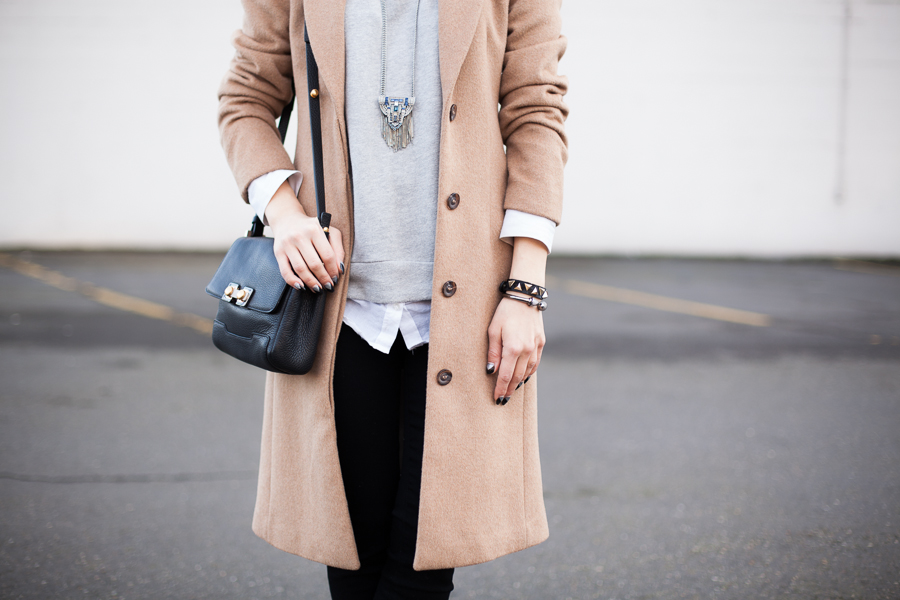Camel Coat Black Jeans-104