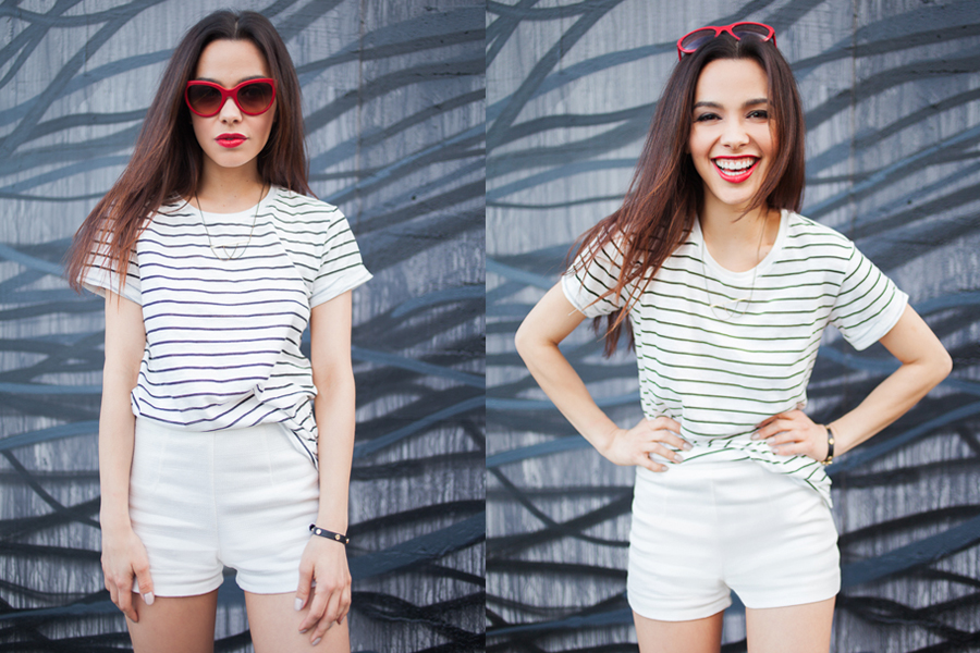 striped T 03