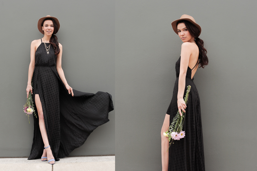 Astr black dress 01
