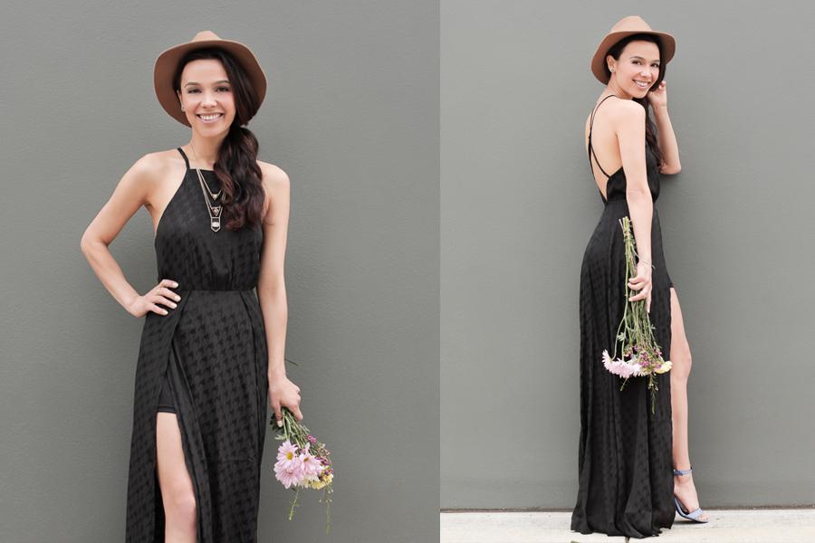 Astr black dress 02