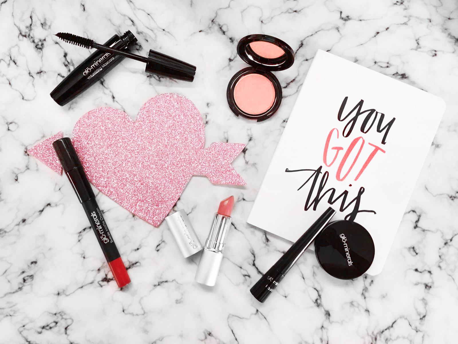 V-day Makeup Faves- with Glo Minerals