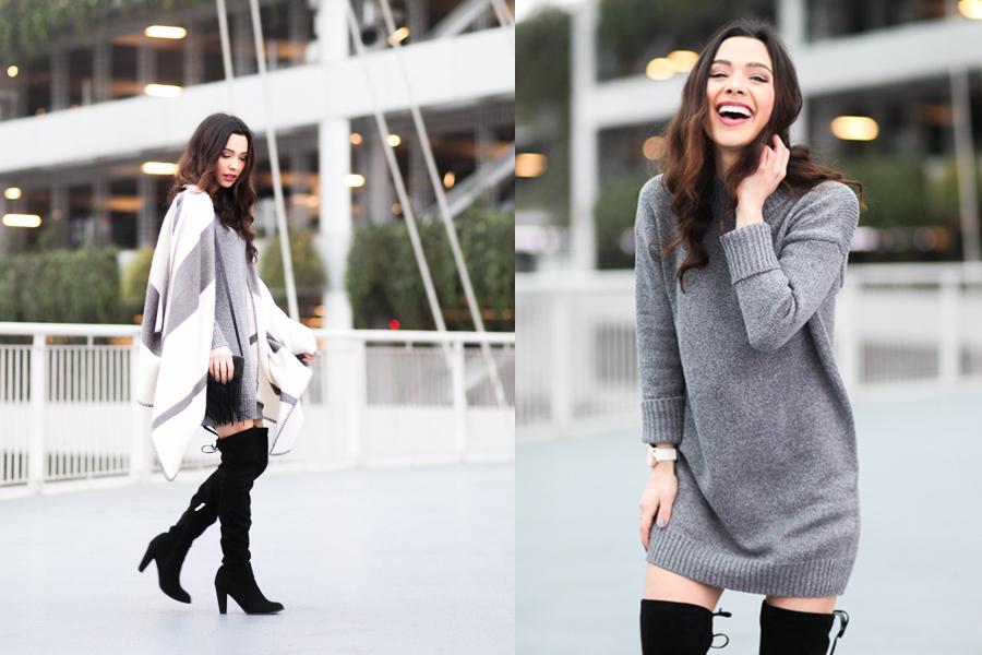 Romwe Sweater Dress-02