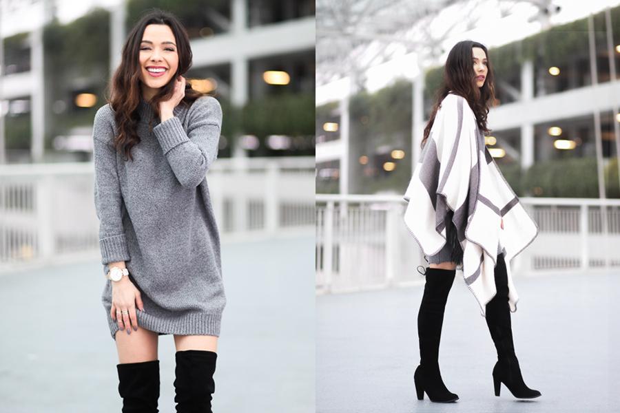 Romwe Sweater Dress-04
