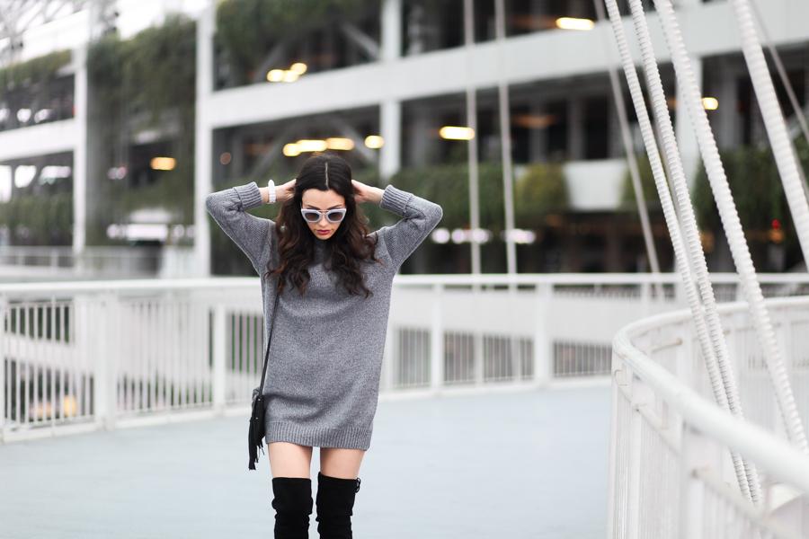 Romwe Sweater Dress-105