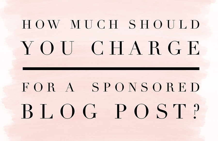 blog charge for post