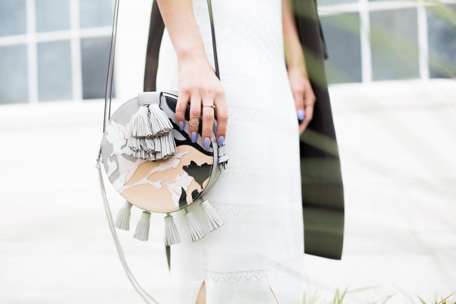 Oasis white dress-105