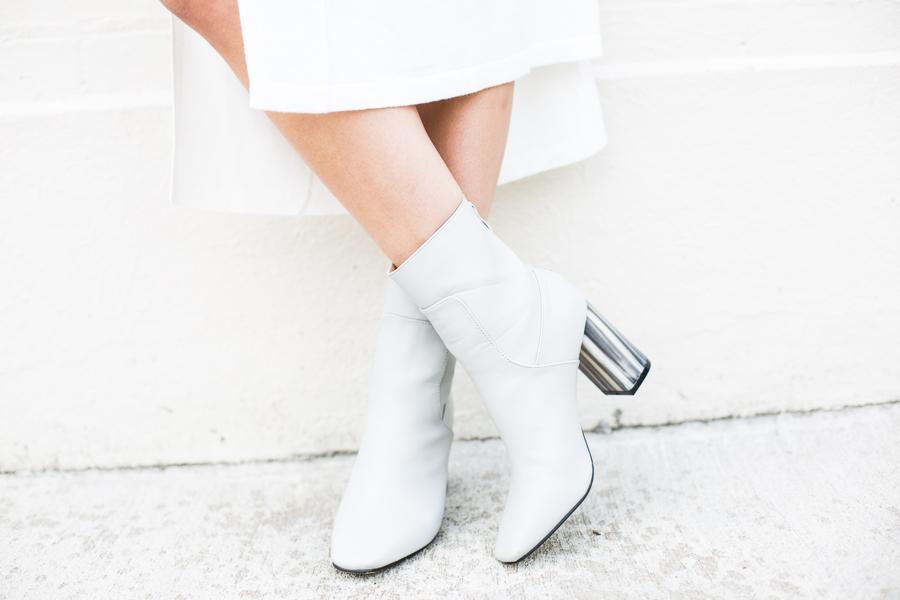 Oasis white dress-108