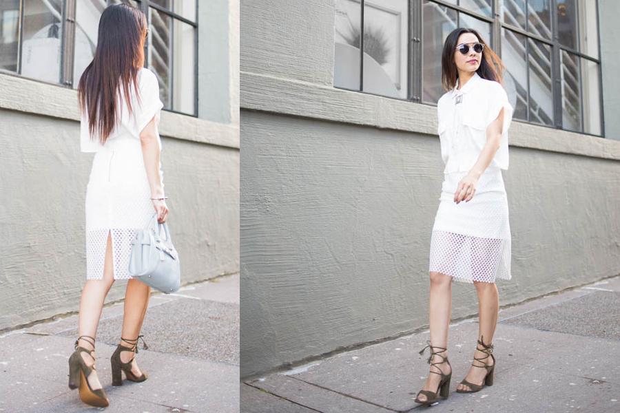 VIP me white skirt 01