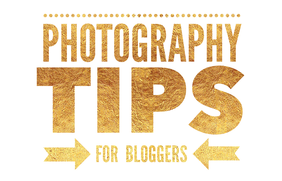 Blogger Photography Tips with Shopping Links
