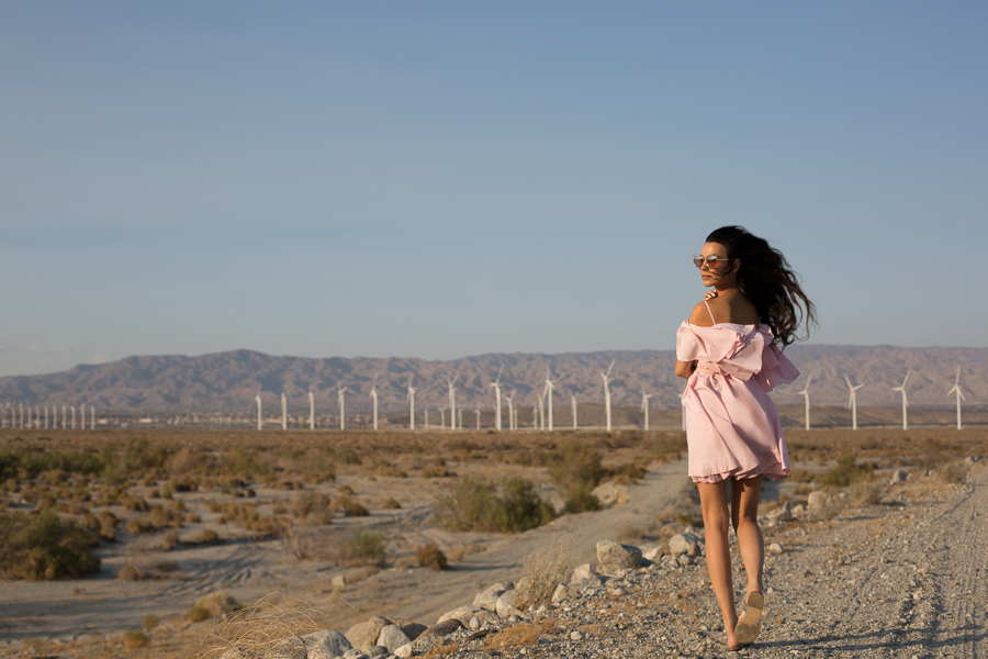 Palm Springs Pink Dress-101