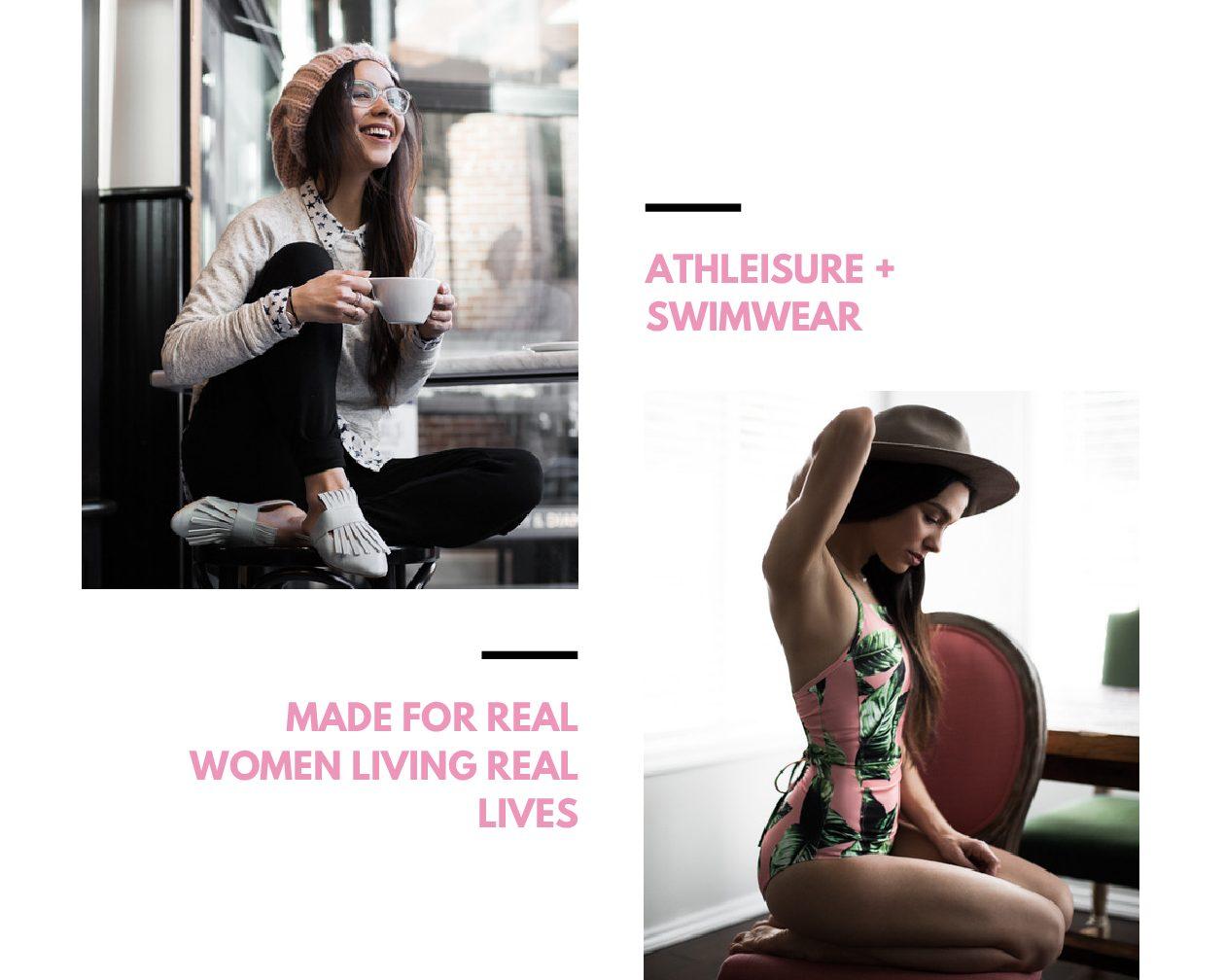 Athleisure + Swimwear with Albion