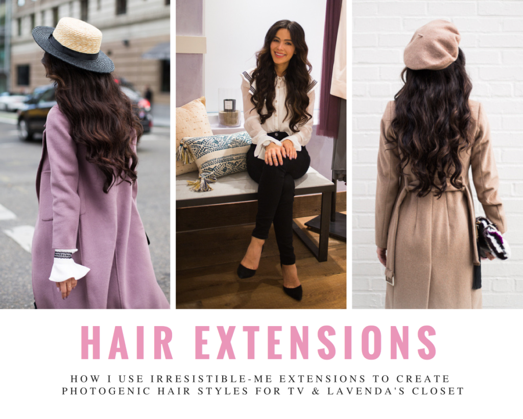 Hair Extensions with Irresistible Me