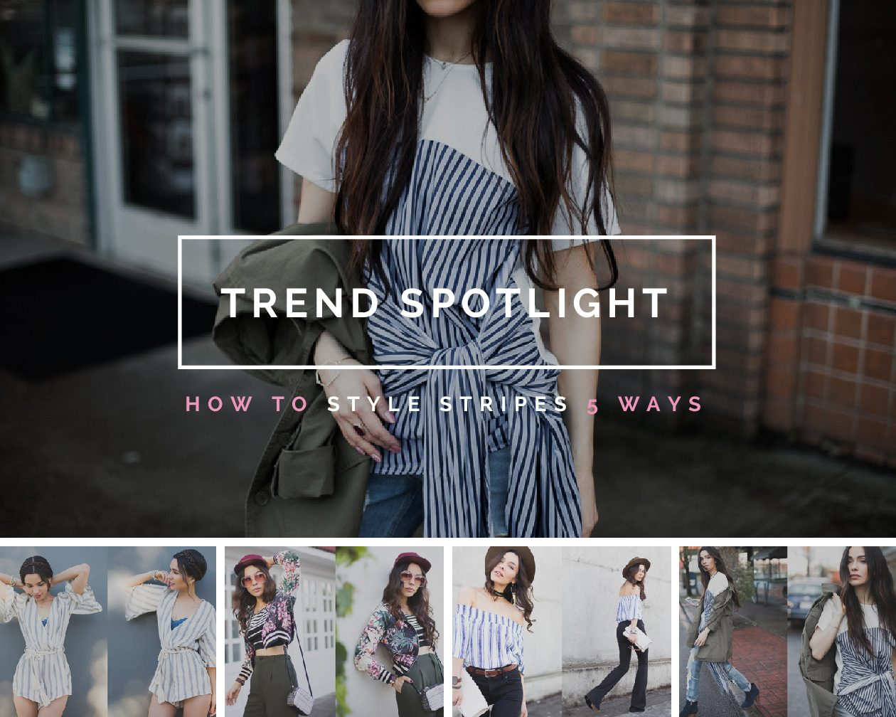 Trend Spotlight: 5 Ways to Wear Stripes