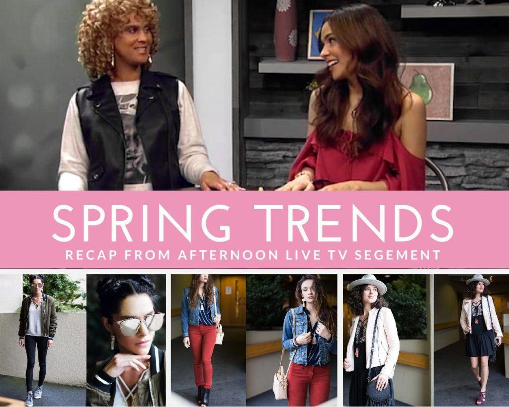 Afternoon Live: 2017 Spring Trends