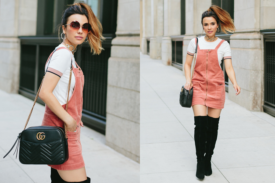 Pink Corduroy Dress- Corduroy Round Up