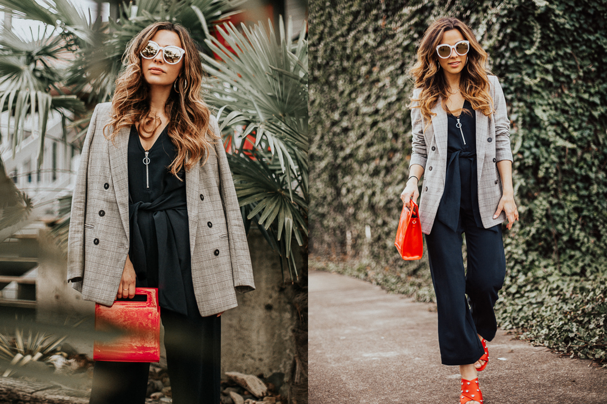Plaid Blazers & 10 Top Jumpsuits for 2018