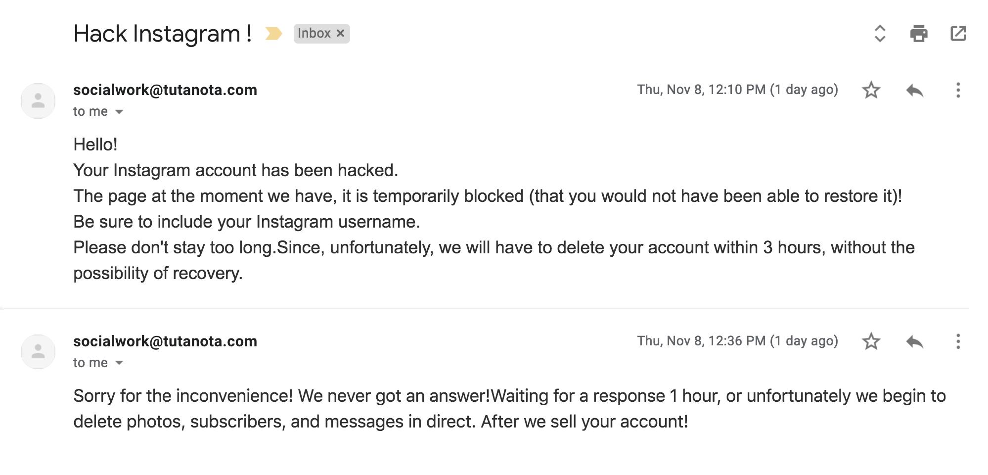 Instagram Hacked- 236k+ Account Vanished