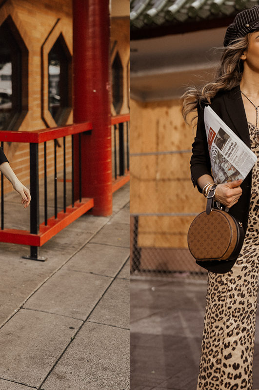How to Mix Prints- Leopard Jumpsuit