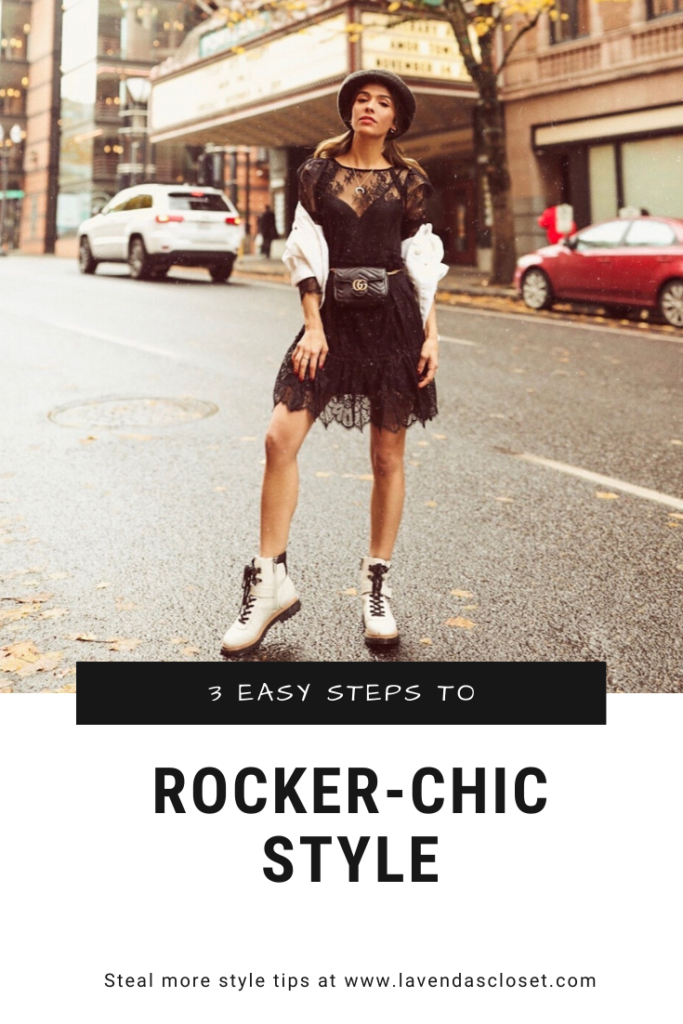 rocker chic, outfit of the day
