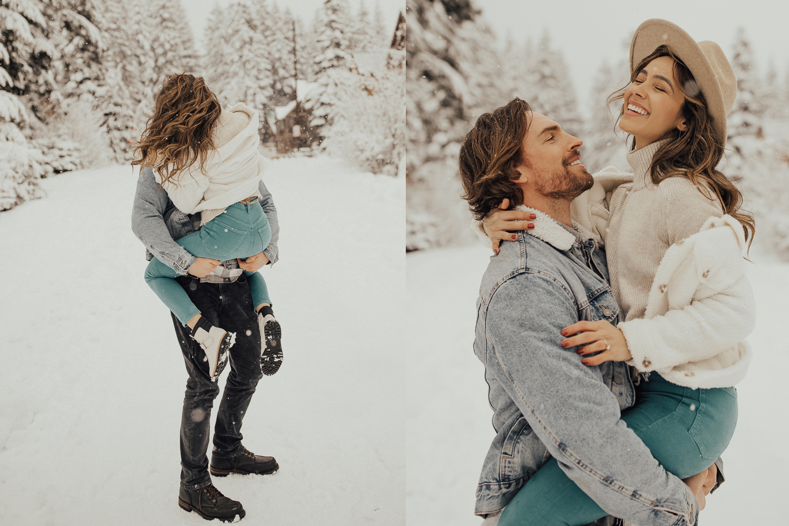 5 Steps to the PERFECT COUPLE SNOW SHOOT