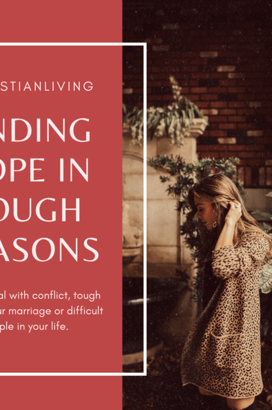 Christian Conflict Resolution: How to survive tough seasons in your Relationships